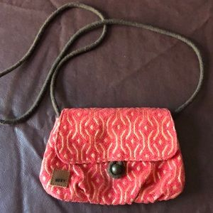 Roxy over the shoulder purse.